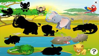 アクティブ! サファリ約子供のためのゲーム: 学び、遊ぶ 動物とののおすすめ画像5