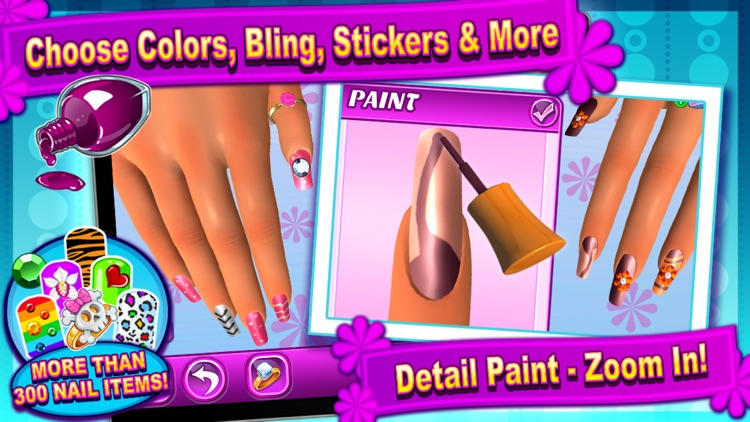 Sunnyville Salon Game - Play Free Hair, Nail & Make Up Games screenshot-1