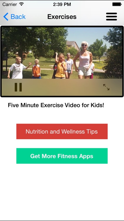 Workouts for Children - Exercises for Kids