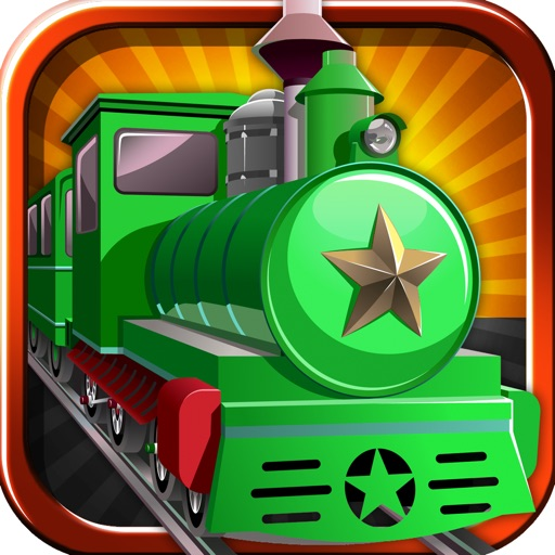Free Train Game Addictive Train Delivery icon