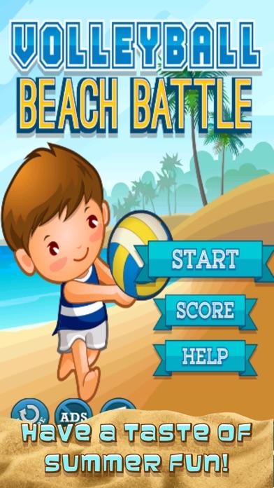 A Volleyball Beach Battle Summer Sport Game-0
