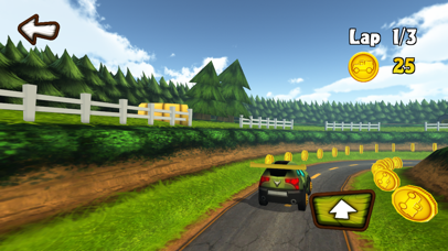 Fun Kid Racing 3D screenshot two