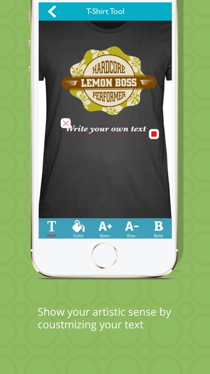 T-Shirt Designer Tool App screenshot-3