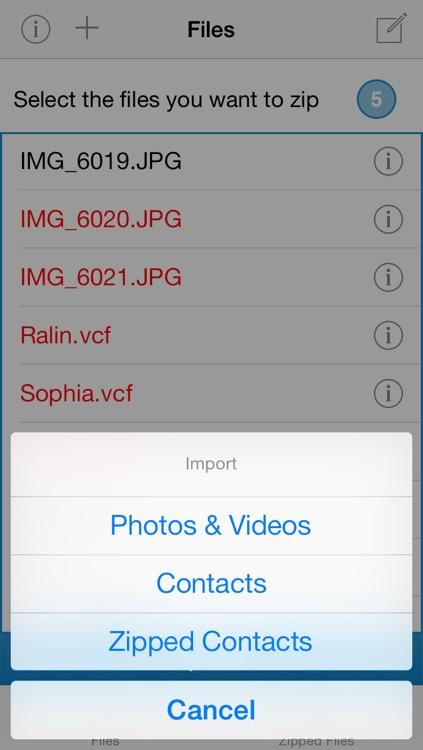 Zip&Unzip screenshot-4