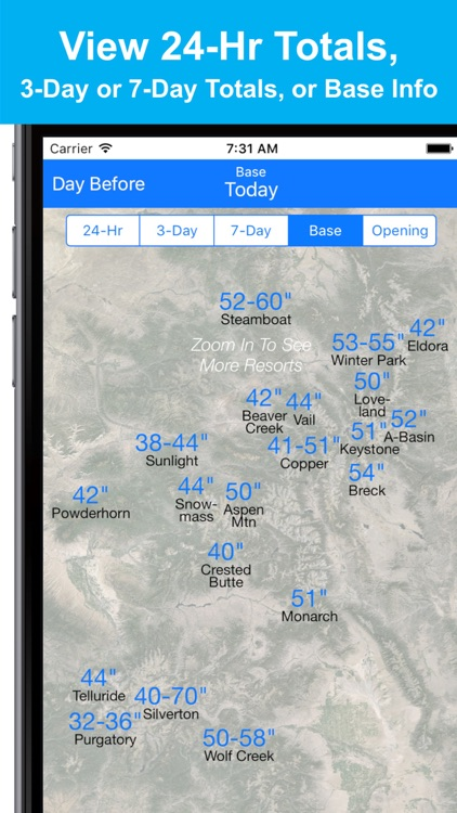 Colorado Snow Map & Webcams screenshot-3