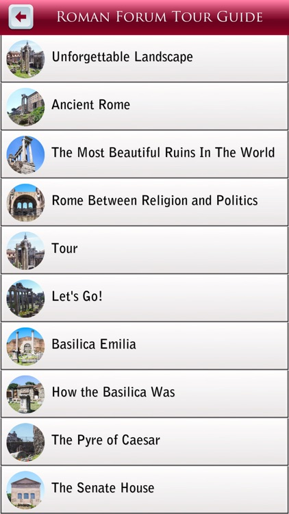 Roman Forum Tour Guide screenshot-3