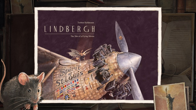 Lindbergh. The Tale of a Flying Mouse screenshot-0