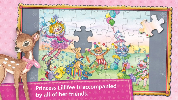 Puzzle fun with Princess Lillifee screenshot-4
