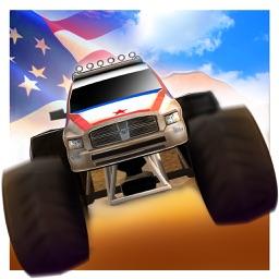 American Monster Truck Stunt Simulator : Free Fun Game For Kids