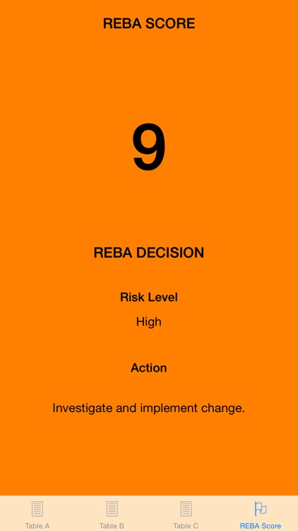 REBA Ergonomic Analysis  - Get REBA Score instantly, within seconds! - Musculoskeletal injury risk calculator screenshot-3