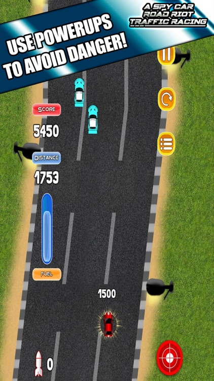 A Spy Car Road Riot Traffic Racing Game screenshot-3