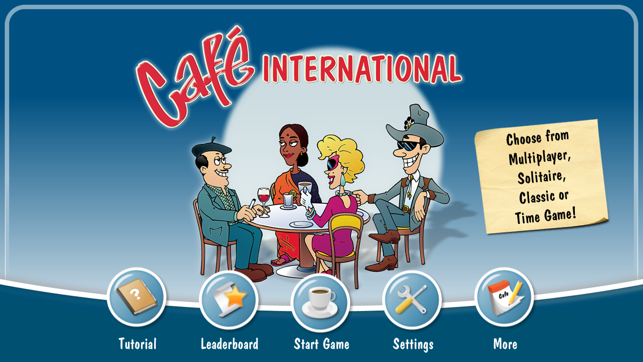 ‎Café International Screenshot