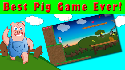 Pig Hay Run: Another Fun Day On The Farm - Free Game Screenshot on iOS