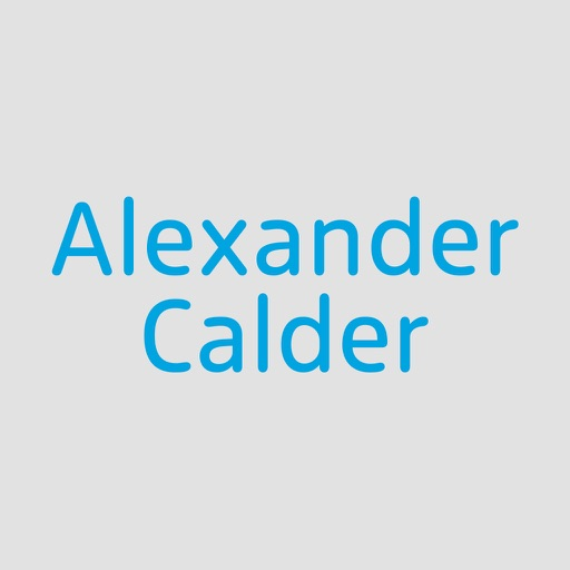 Alexander Calder: Performing Sculpture icon