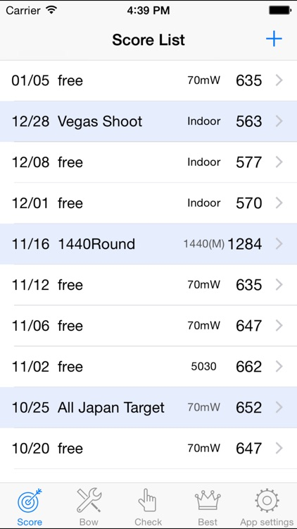 Archery Recorder -Archery Score Management-