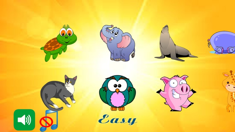 Animals Puzzles For Toddler screenshot-3