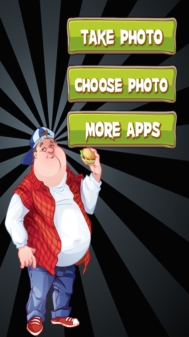 Make Me Look Fat Photo Booth: Funny Face Picture Effects screenshot one