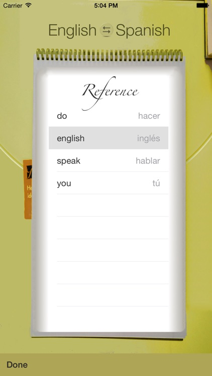 Spanish Vocabulary Trainer screenshot-3