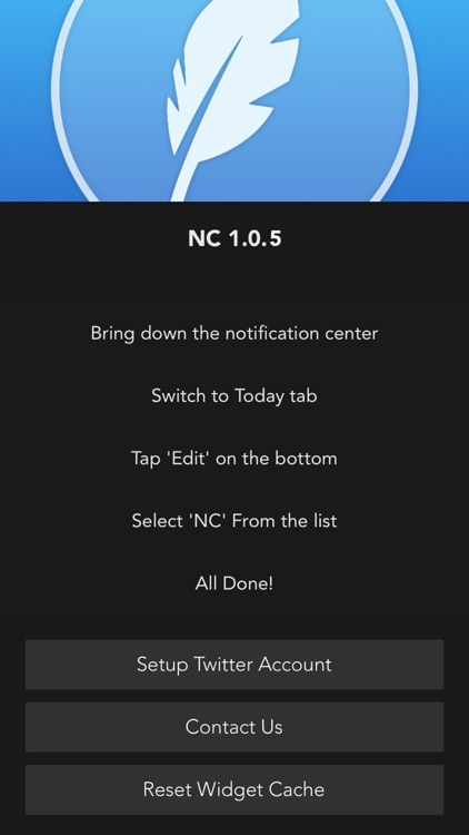 NC - Twitter Widget for Notification Center screenshot-3