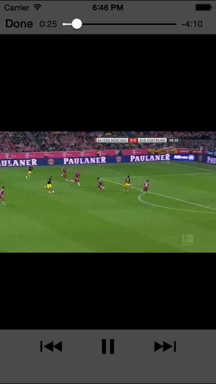 Soccer videos Pro - Highlights and best goals screenshot-4