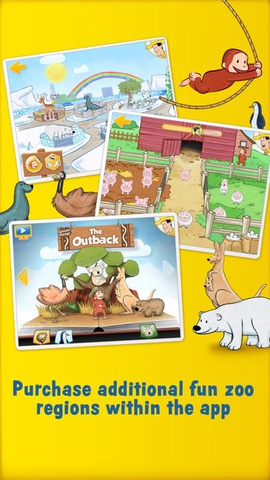 Curious George: Zoo Animalsのおすすめ画像5