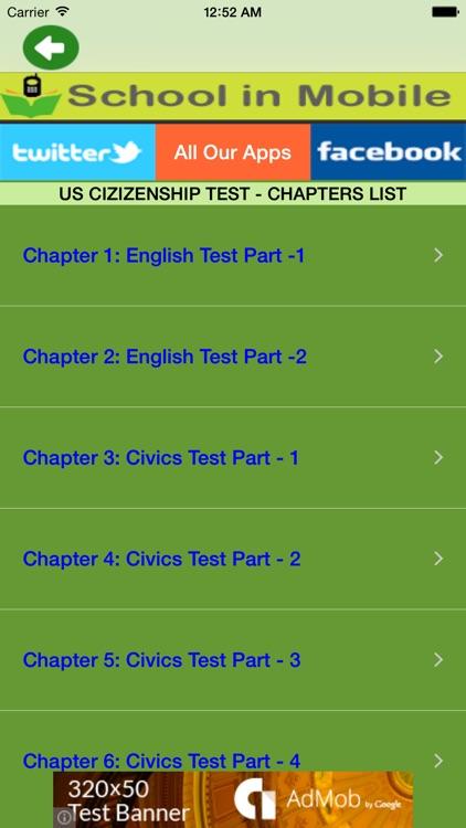 US Citizenship Test Free screenshot-4