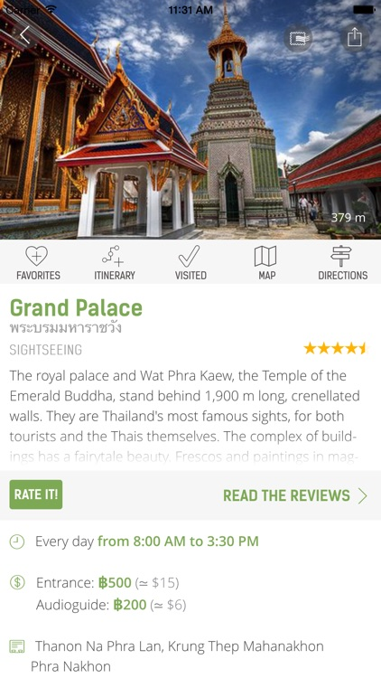 Bangkok Travel Guide (with Offline Maps) - mTrip screenshot-4