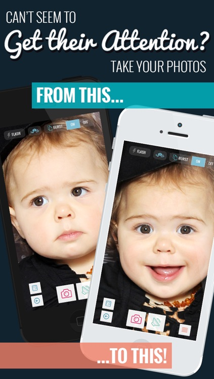 lookhear camera app makes funny sounds to snap the happy smiley