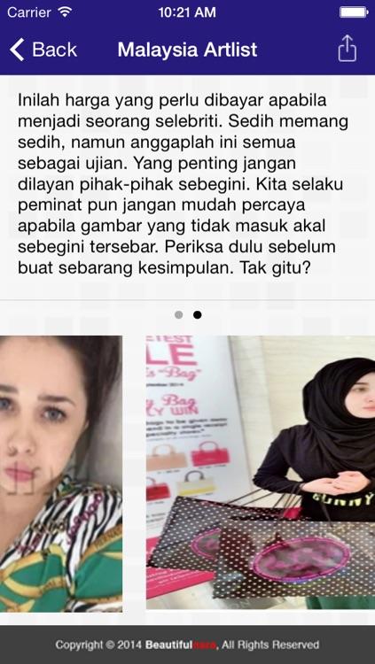 BEAUTIFULNARA - Gosip Artis Malaysia Terkini by Q BYTE ... | 423 x 750 jpeg 103kB