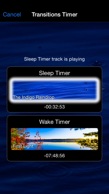 Naturespace - Relax Meditate Focus Sleep and Rest with 3D Sounds, sonic therapy for anxiety and stress relief screenshot-3