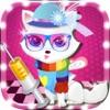Cute Kitty Cat Pet Hot Fashion Dress up and Spa Salon