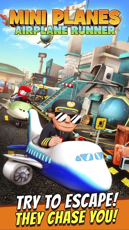 Mini Planes - Free Cartoon Air Craft Runner Game for Kids