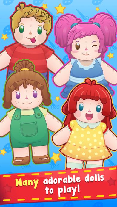 Screenshot of Doll Hospital - Plush Dolls Doctor Game for Kids App