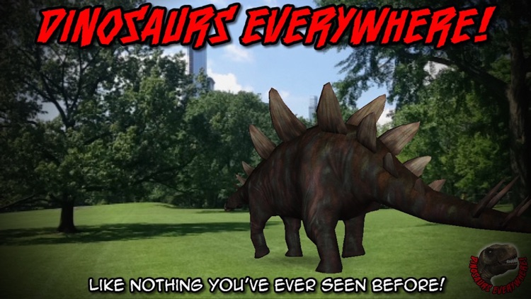 Dinosaurs Everywhere! A Jurassic Experience In Any Park! screenshot-3