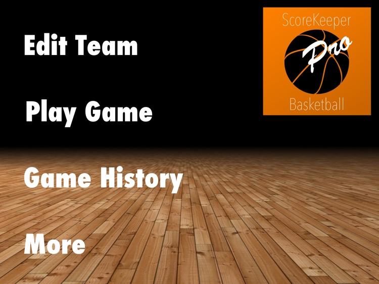 ScoreKeeper Basketball Pro HD
