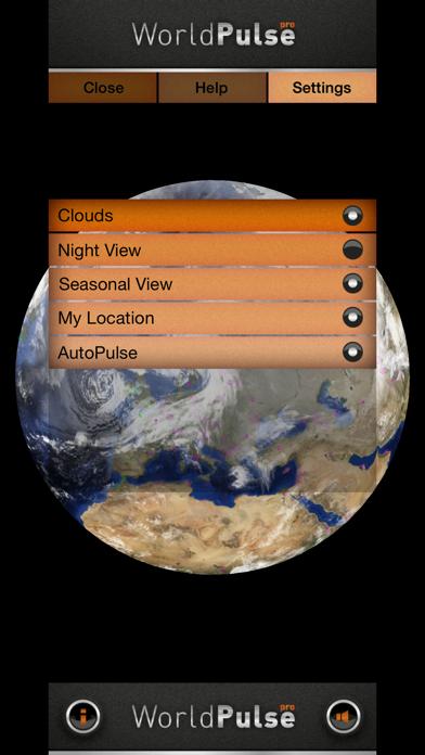 WorldPulse Earth Weather Clouds & Temperatureのおすすめ画像3
