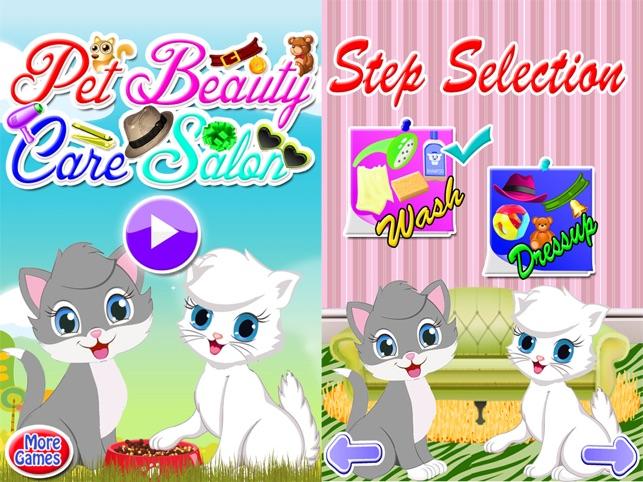 Bichinhos Fofos Moda! Salão De Beleza Gatinho Jogo na App Store