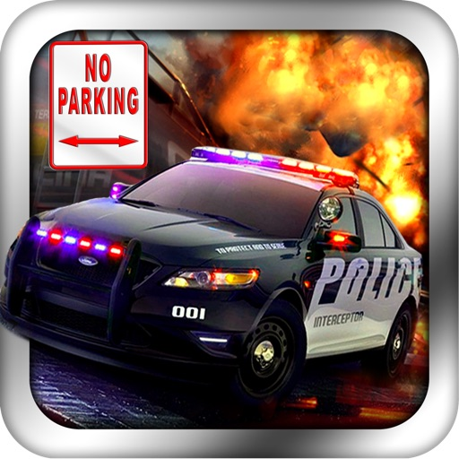 3D Police Car Parking PRO - Full Real Driving Simulator Park Game Version