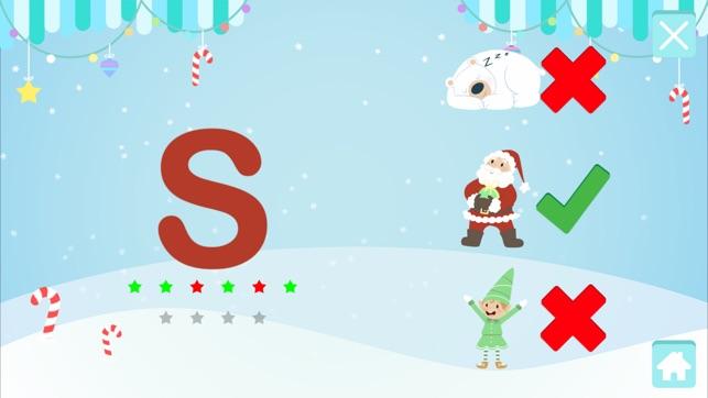 ABC: Christmas Alphabet For Kids - Learn the Alphabet
