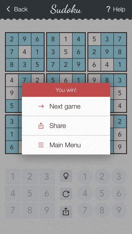 Sudoku 2 PRO - japanese logic puzzle game with board of number squares screenshot-4