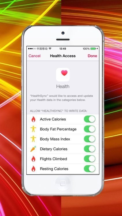 Sync from Fitbit to Health app screenshot-3