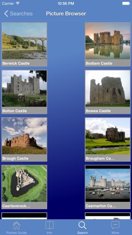 Pocket Guide UK Castles screenshot-3
