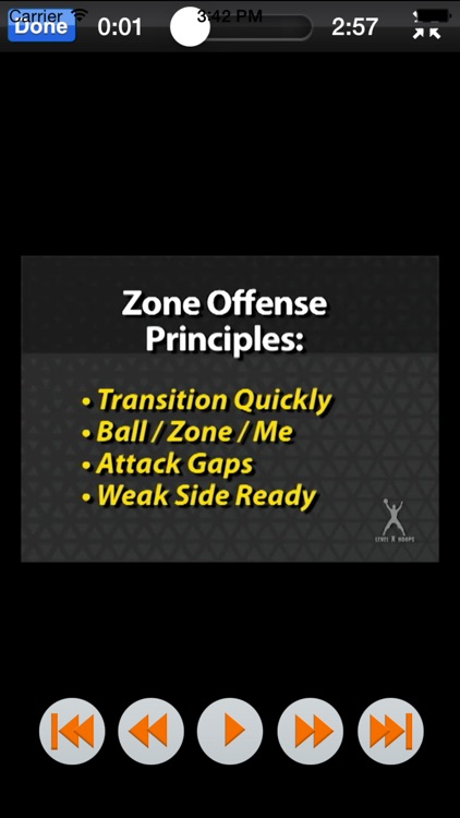 Scoring Against Zone Defense  - Youth Basketball - With Coach Lason Perkins - Full Court Basketball Toolbox 1 Training Instruction screenshot-2