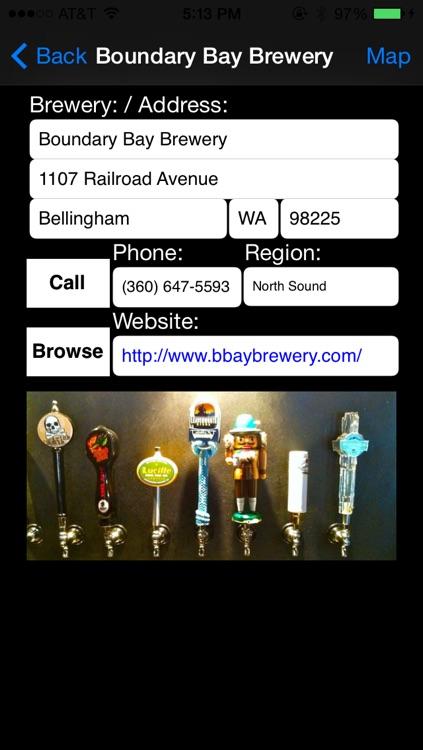 Washington Brewery Finder screenshot-3
