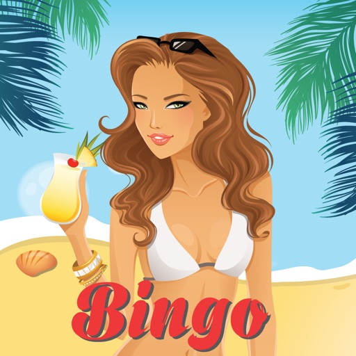 A Party on the Beach with Sexy Girl - BINGO Free iOS App