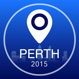 Perth Offline Map + City Guide Navigator, Attractions and Transports