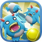 Knockdown the Tiny Minion Monsters: Make Them Fall From High icon