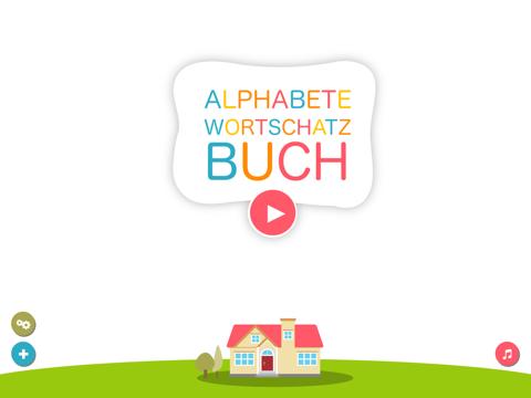 Alphabet und Wortschatz-Buch für Kinder (Wörterbuch für Kindergarten und Vorschule)-ipad-0