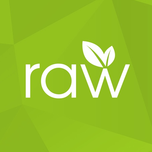 Rawvana's Raw Recipes app logo
