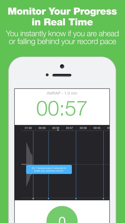 Burpee Counter - The Only Workout Tracker That Tracks Your Reps With Your Microphone! screenshot-3
